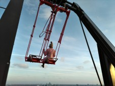 A'dam Lookout: Swing over Amsterdam